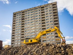 On-going urban development