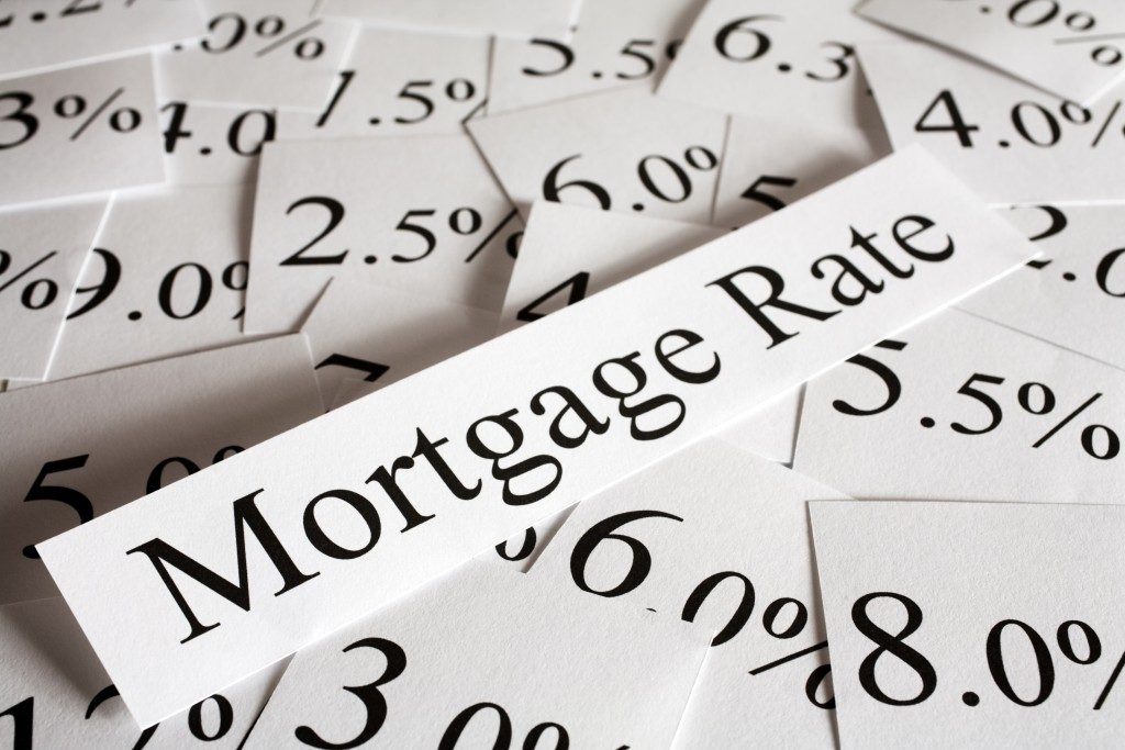mortgage rates.