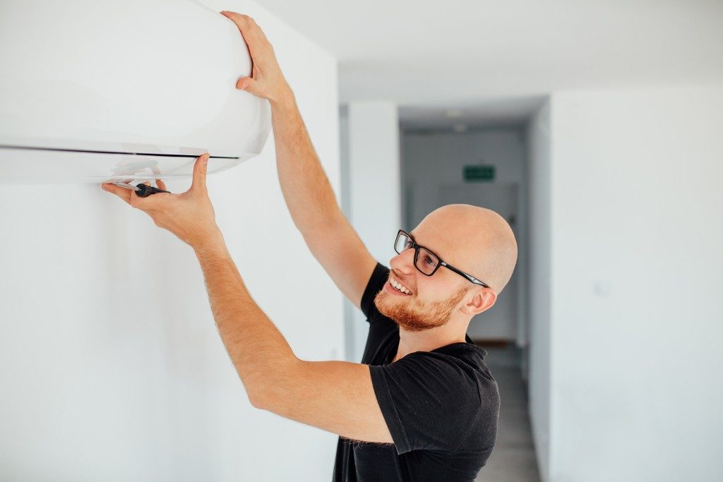 fixing an AC system