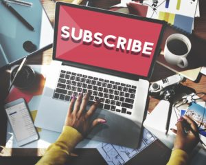 subscription concept