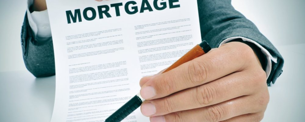 Mortgage contract signing