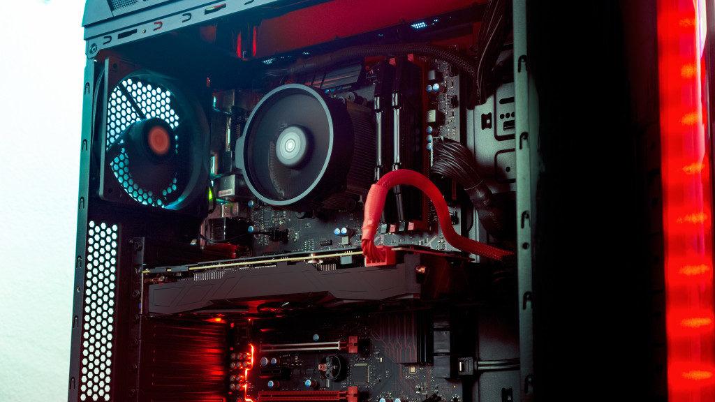 inside of a PC