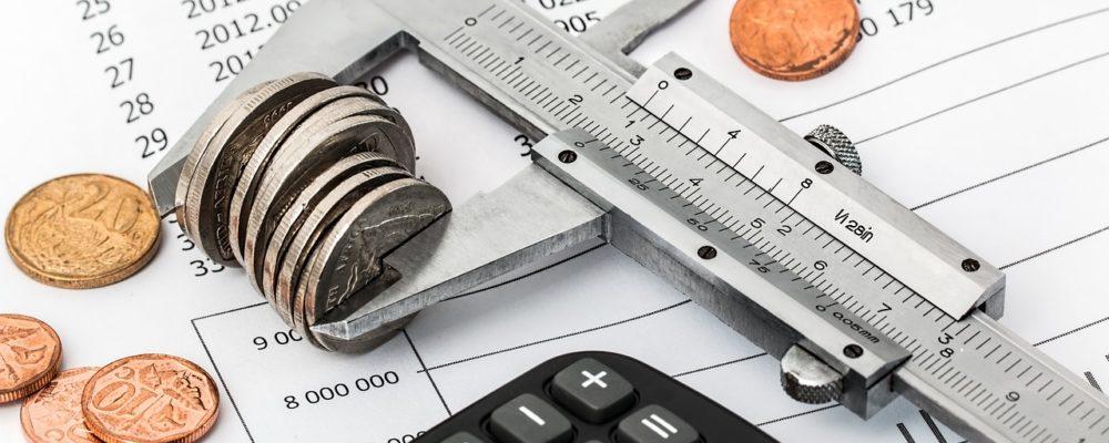 reducing expenses concept