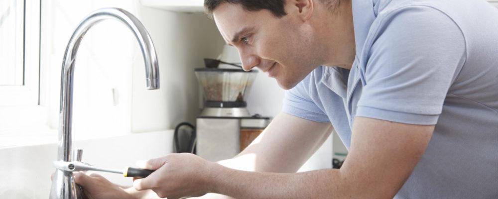 repairing sink faucet