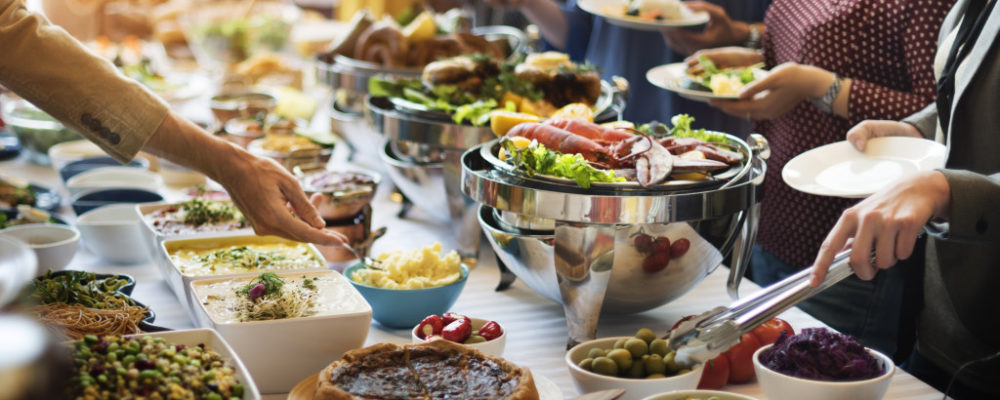 catering business in an event