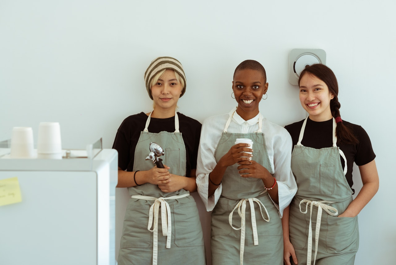 three employees