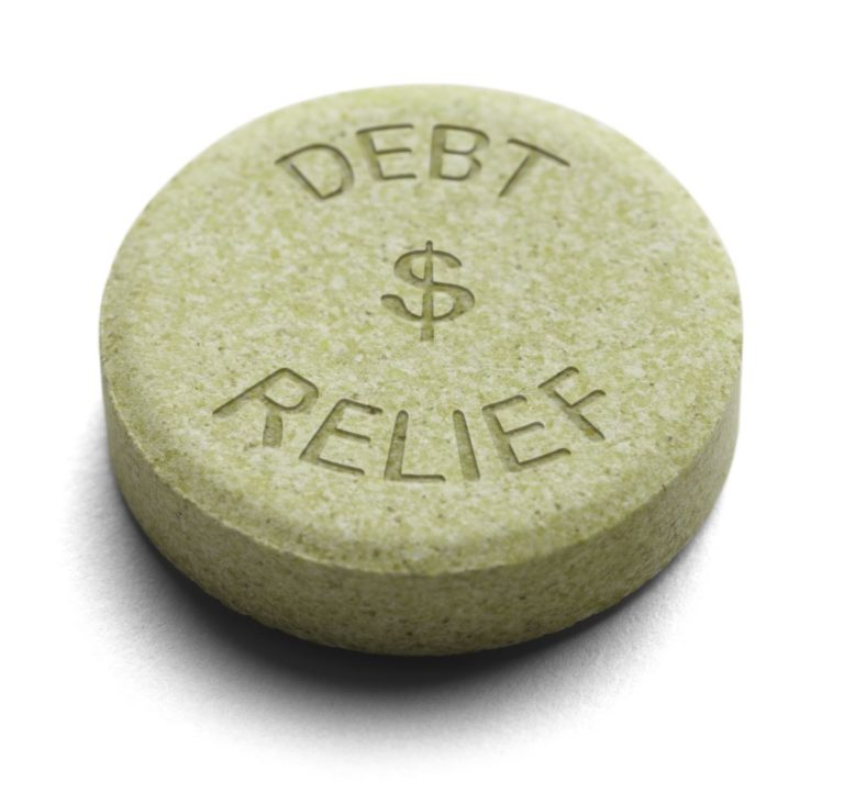 debt relief tablet