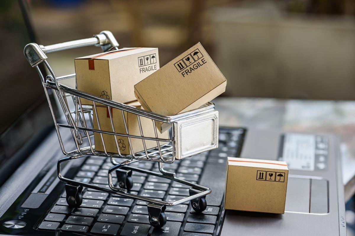 online shopping shopping cart